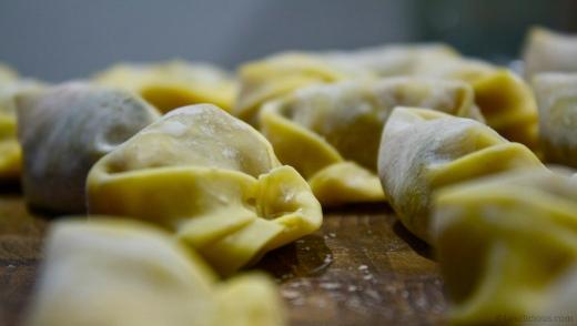 The dumpling production continues
